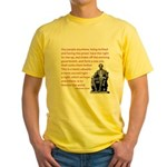 Shake off the existing Yellow T-Shirt