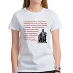 Shake off the existing Women's T-Shirt