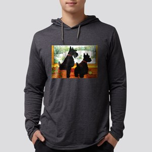 A Scotty Dog Christmas Long Sleeve T-Shirt