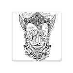 WOOD U Sticker