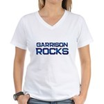 garrison rocks Women's V-Neck T-Shirt