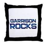 garrison rocks Throw Pillow