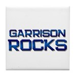 garrison rocks Tile Coaster