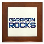 garrison rocks Framed Tile