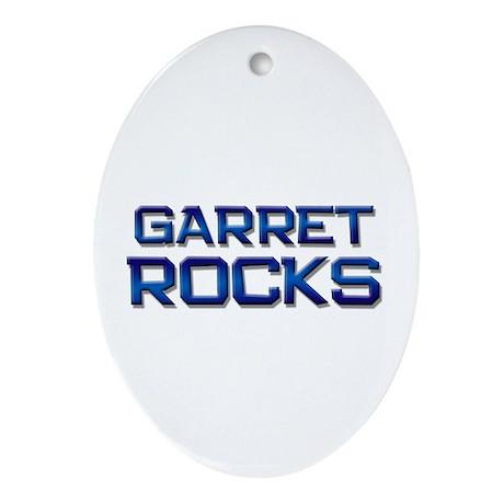 garret rocks Oval Ornament