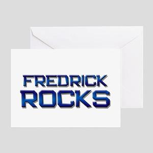fredrick rocks Greeting Card