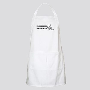 reining horse using its power BBQ Apron