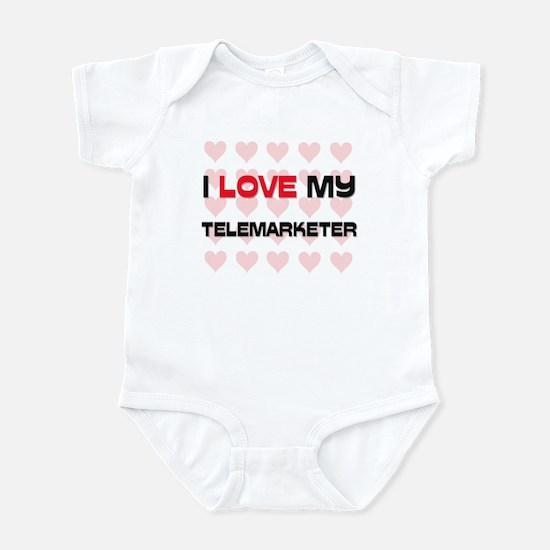 I Love My Telemarketer Infant Bodysuit
