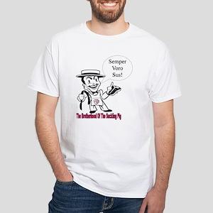The Porkmeister White T-Shirt