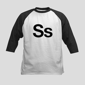 Helvetica Ss Kids Baseball Jersey