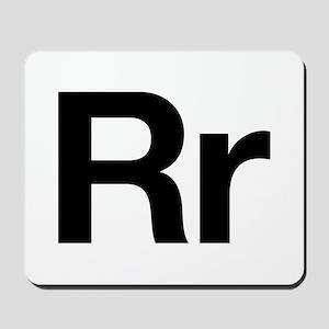 Helvetica Rr Mousepad