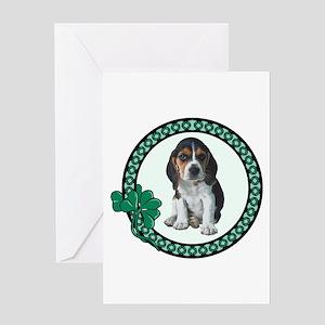Irish Beagle Greeting Card