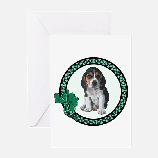 Irish Beagle Greeting Card