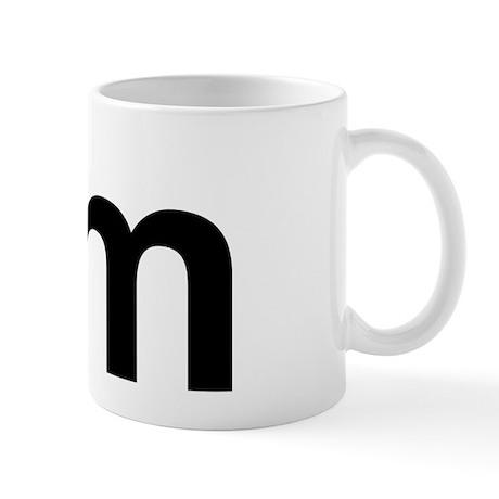 Helvetica Mm Mug