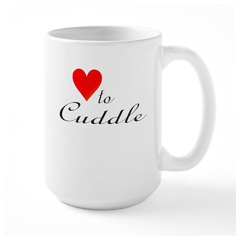 Heart to Cuddle: Large Mug