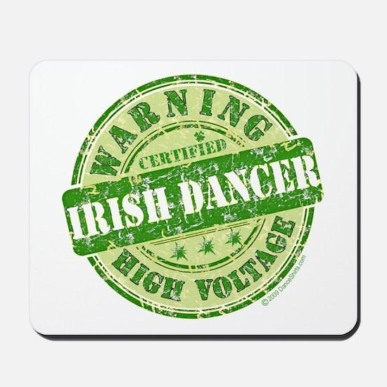 Certified Irish Dancer Mousepad