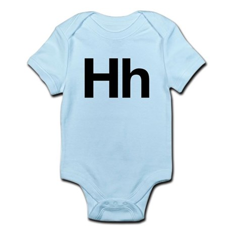 Helvetica Hh Infant Bodysuit
