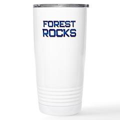 forest rocks Stainless Steel Travel Mug