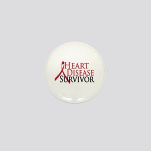 Heart Disease Survivor (2009) Mini Button
