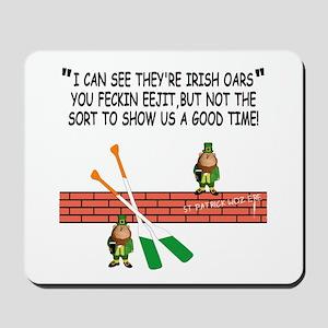 Irish whores spoof Mousepad