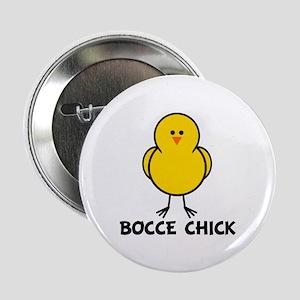 "Bocce Chick 2.25"" Button"