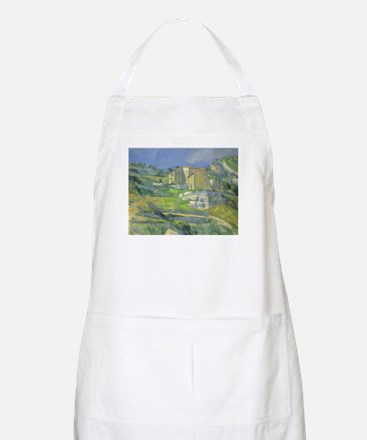 Houses in Provence by Cezanne Apron
