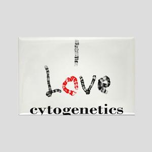 I love Cytogenetics Chromosome Letters Magnets