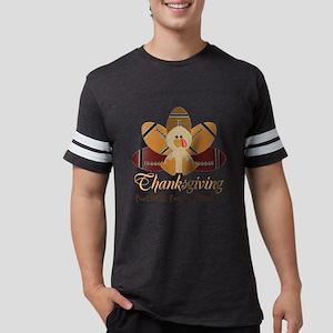 Football Turkey: Thanksgiving Personalize T-Shirt