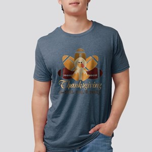 Football Turkey: Thanksgiving Personalize T-Shirt