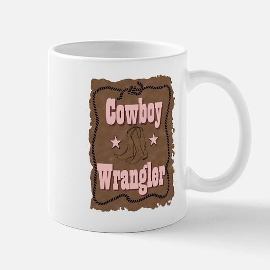 """""""Cowboy Wrangler"""" Mug"""