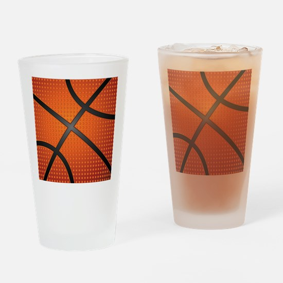Basketball Ball Drinking Glass