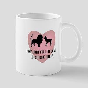 Lion Lamb Heart Mug