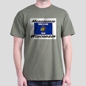 Menomonie Wisconsin Dark T-Shirt