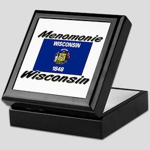 Menomonie Wisconsin Keepsake Box
