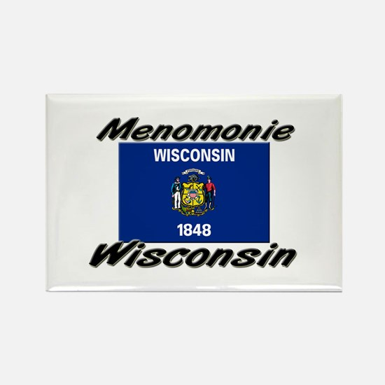 Menomonie Wisconsin Rectangle Magnet