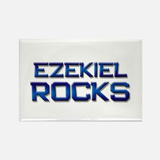 ezekiel rocks Rectangle Magnet