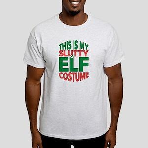 Christmas Slutty Elf Costume Santa's E T-Shirt