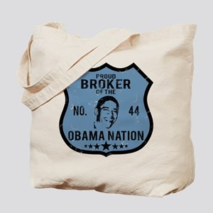 Broker Obama Nation Tote Bag