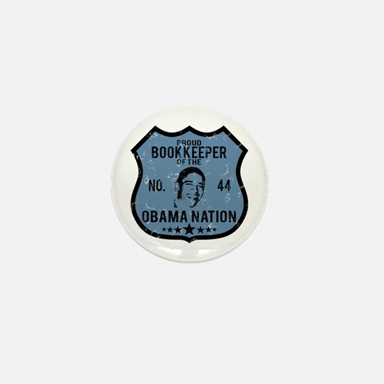 Bookkeeper Obama Nation Mini Button