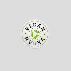 Sports Vegan Logo Mini Button