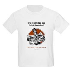Fuzzy Journalism? Kids T-Shirt