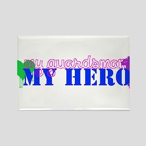 My Hero Rectangle Magnet
