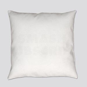 Smash Subscribe for Social Media V Everyday Pillow