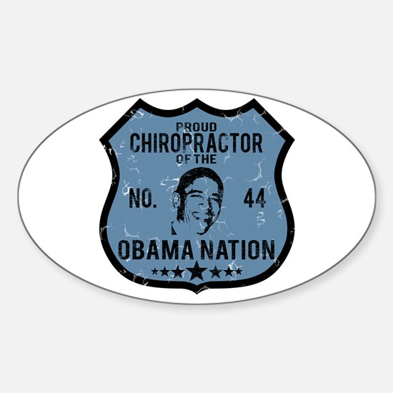 Chiropractor Obama Nation Oval Decal