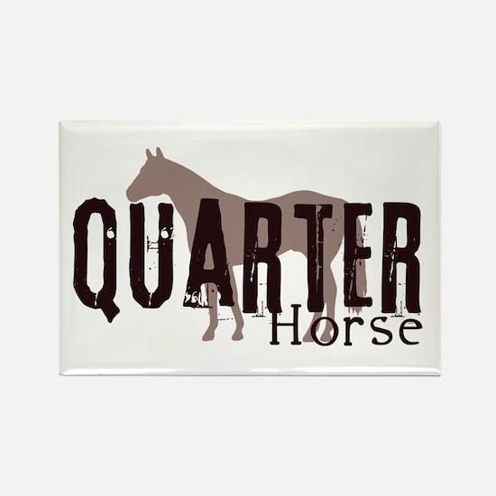Quarter Horse Rectangle Magnet