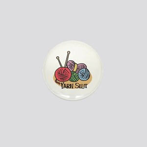 Yarn Slut Mini Button