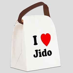 jido copy Canvas Lunch Bag