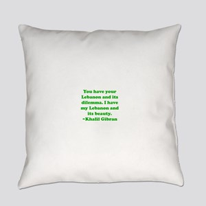 Dilemma Everyday Pillow