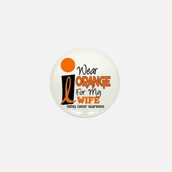I Wear Orange For My Wife 9 KC Mini Button