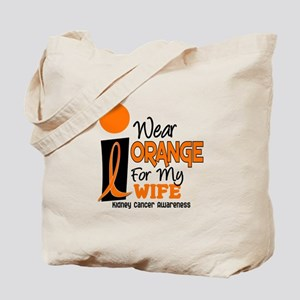 I Wear Orange For My Wife 9 KC Tote Bag